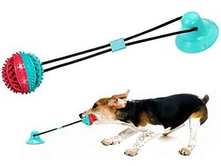 baikangsheng Dog Chew Toys  Self Playing with Suction Cups  Teeth Cleaning