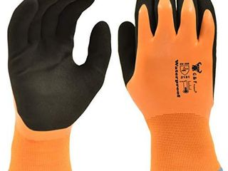 G   F Products 100  Waterproof Winter Gloves Double Coated Windproof HPT   large  1628