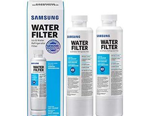 SAMSUNG HAF CIN Refrigerator Water Filter  2 Pack  White  2 Count