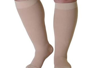 Made in The USA   3Xl Mojo Compression Socks 20 30mmHg Plus Size Compression Socks Wide Calf  large AB201BE6