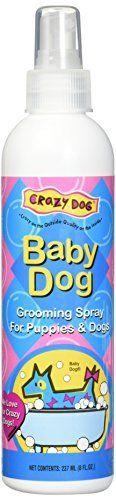 Crazy Dog Baby Powder Grooming Spray  8oz