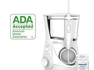 Waterpik Whitening Water Flosser  White  WF 05  Electric Oral Irrigator Flosser Whitens Teeth Gently