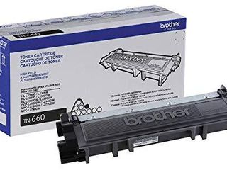 Brother Genuine High Yield Toner Cartridge  TN660  Replacement Black Toner  Page Yield Up To 2 600 Pages  Amazon Dash Replenishment Cartridge