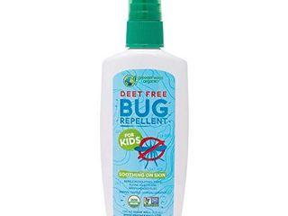 Greenerways Organic Bug Spray for Kids  Kid Friendly Natural Mosquito Repellent  USDA Organic  Non GMO  Mosquito Repellent  Bug Repellant  Clothing DEET Free   4Oz