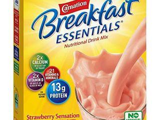 Carnation Breakfast Essentials Powder Drink Mix  exportation date Nov 19 2021