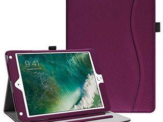 Fintie Case for iPad 9 7 2018 2017   iPad Air 2   iPad Air 1    Corner Protection  Purple