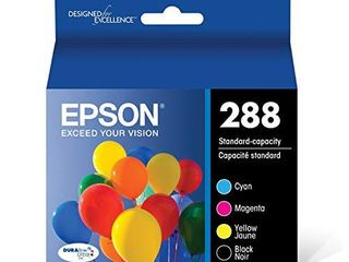 Epson T288120 BCS DURABrite Ultra Black and Color Combo Pack Standard Capacity Cartridge Ink