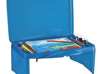 Collapsible Folding lap Desk  in Blue