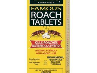 Harris Roach Tablets  Boric Acid Roach Killer with lure  Alternative to Bait Traps  6oz  145 Tablets