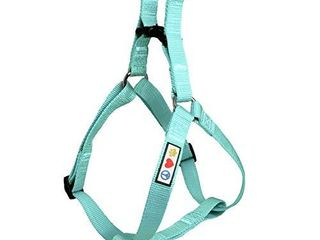Pawtitas Solid Color Step in Dog Harness or Vest Harness Dog Training Walking of Your Puppy Harness Small Dog Harness Teal Dog Harness