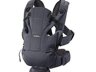 BABYBJORN Baby Carrier Free  3D Mesh  Anthracite