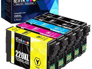 E Z Ink  TM  Remanufactured Ink Cartridge Replacement 5pk