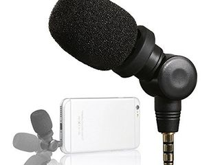 Saramonic SmartMic Mini Condenser Flexible Microphone for Smartphones Vlogging Microphone for iPhone and YouTube Video  Mic for iOS Apple iPhone 7 7s 8 X 11 6 6s iPad and Android Phone