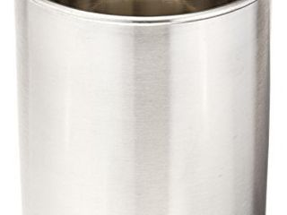 Tablecraft Products Hu2 Utensil Holder  Stainless Steel Brushed