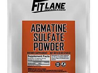 Agmatine Sulfate Powder  Bulk Nitric Oxide Supplement  250 Gram Value Sized Bag  333 Servings