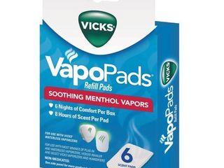 2  Vicks   Refill Pads 6 00 ct   VVP 6