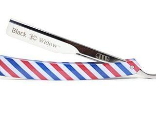 Barber Straight Razor Kit    Red White Blue