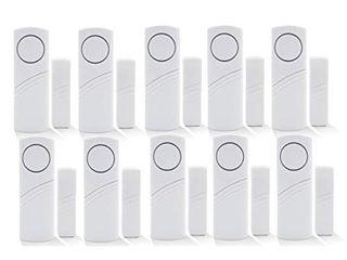 Wireless Home Security Alarm System DIY Kit    Set of 10