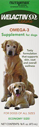 Welactin Omega 3 Skin and Coat Support liquid  16 oz