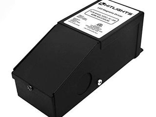 lED Dimmable Driver 150W  2 5A  Magnetic  110V AC 24V DC Transformer  low Voltage Power Supply for lED Strip lights  Compatible w lutron   leviton