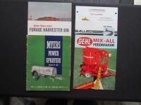Tractor & Implement Literature Consignment Auction