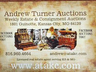 Thursday 4/01/2021-Andrew Turner Auctions