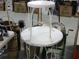 ICE CREAM TABlE AND CHAIR