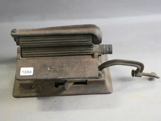 CAST TABlE TOP FlUTING CRIMPING IRON