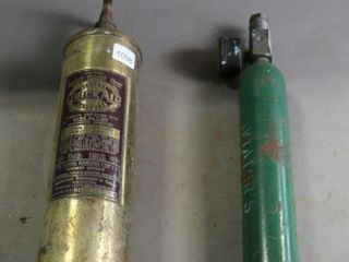 QUICK AID FIRE EXTINGUISHER AND CARTRIGE