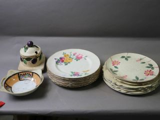 GROUP OF PlATES ETC