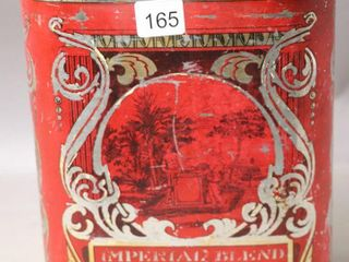 IMPERIAl BlEND TEA TIN BRATFORD  ONT