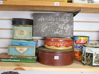 lOT OF 10 ASSORTED TIN