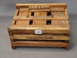TWIN BROOK FARMS EGG CRATE 9X7X5