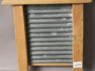 SMAll WOODEN WASH BOARD 8X10