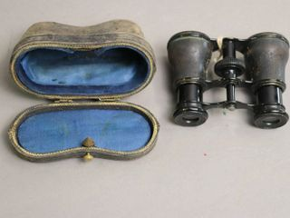 lEMATRE FAB OPERA GlASSES WITH CASE