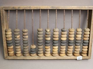 WOODEN ABACUS 18X11