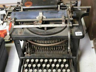 REMINGTON STANDARD TYPEWRITER NO  6