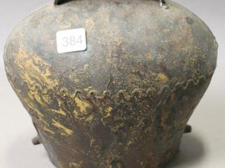 EARlY lARGE COW BEll 8X4X8