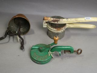 THREE ITEMS JUICER  SlICER AND MIXER