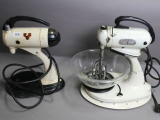 TWO STAND MIXERS