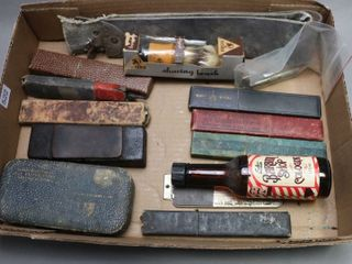 lOT OF BARBER ITEMS
