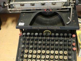 SMITH PERMIER TYPEWRITER NO  10