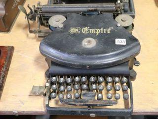 THE EMPIRE TYPEWRITER