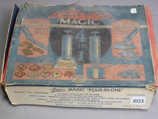 ATECO MAGIC FOOD PRESS WITH BOX