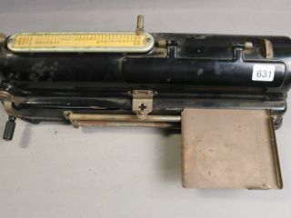 THE PROTECTOGRAPH CHECK WRITER 16X5X5