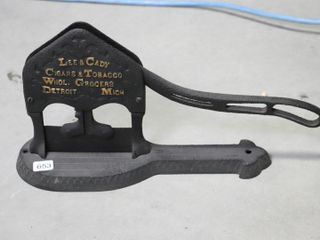 lEE AND CADY TOBACCO CUTTER
