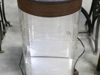 lIGHTED CABINET   NOT TESTED 14 X12 X24