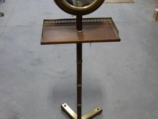 PEDISTAl SHAVING STAND WITH MIRROR 40