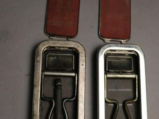 2 VINTAGE RAZORS AND CASES ONE SHEFFIElD
