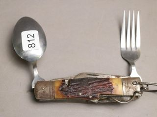 ANTIQUE SURVIVAl KNIFE KIT